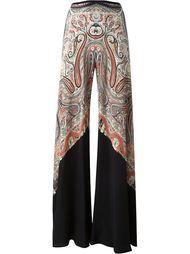 """широкие брюки с принтом """"пейсли"""" Etro"""