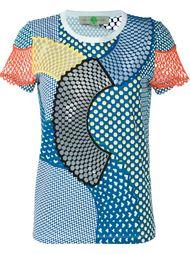 футболка 'Cobalt Mesh Mix' Stella McCartney