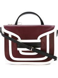 сумка с контрастной окантовкой  Pierre Hardy