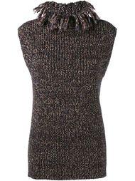 sleeveless knit top Valentino