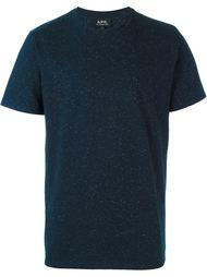 классическая футболка  A.P.C.
