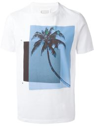 футболка с принтом пальмы  Maison Margiela