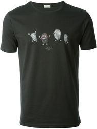 футболка с принтом отпечатков пальцев Paul Smith Jeans