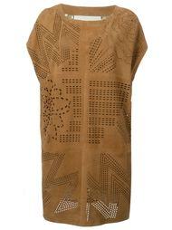 перфорированное платье Drome