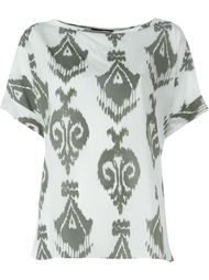 блузка с орнаментом Steffen Schraut