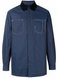 куртка-рубашка с контрастным воротником Givenchy