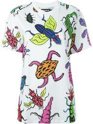 футболка с принтом насекомых House Of Holland