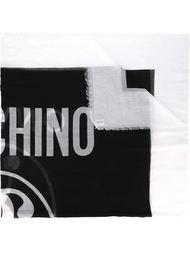 платок с принтом 'Moschino Milano' Moschino