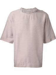 полосатая футболка свободного кроя Lucio Vanotti