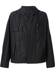 куртка-ветровка с принтом логотипа Raf Simons