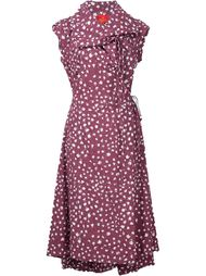 laser cut wrap dress Vivienne Westwood Red Label