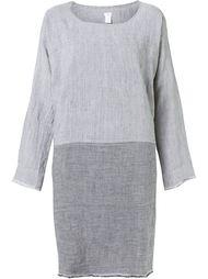 свободное платье дизайна колор-блок Dosa