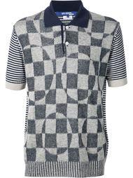 patch polo shirt Junya Watanabe Comme Des Garçons Man