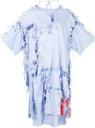 платье с множественными завязками Facetasm