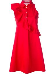 платье-рубашка с оборкой Vivetta