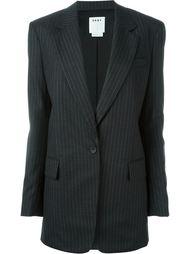 пиджак в тонкую полоску DKNY