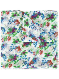 платок с цветочным принтом Saint Laurent