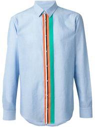 рубашка с контрастной планкой MSGM