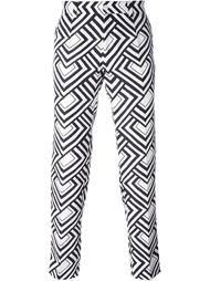 брюки с принтом Dolce & Gabbana