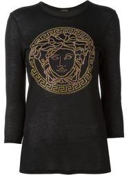 футболка с длинными рукавами  Versace