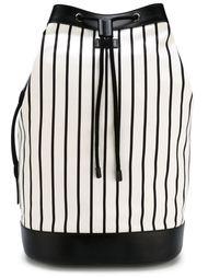 полосатый рюкзак со шнуровкой Dolce & Gabbana