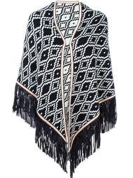 'Triangolo Kelim' cape Antonia Zander