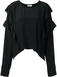 блузка с рюшами на рукавах Faith Connexion