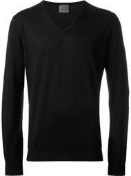 свитер с V-образным вырезом Laneus