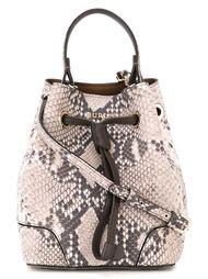 средняя сумка-мешок с принтом кожи питона Furla