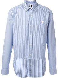 рубашка с полосатыми панелями Roundel London