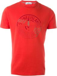 футболка с принтом  Stone Island