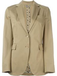 notched lapel blazer Etro