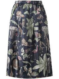 юбка с принтом  Muveil