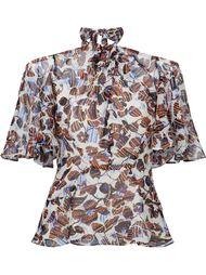 блузка с открытыми плечами Derek Lam