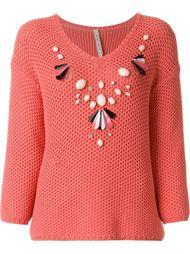 embellished sweater Antonio Marras