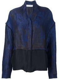 куртка с прозрачным подолом Isabel Benenato
