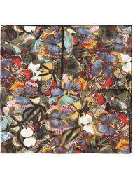 шарф с принтом бабочек Valentino Garavani