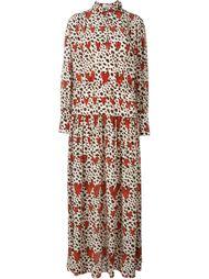длинное платье-рубашка 'Leopard Heart'  Ryan Lo