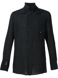 front loop shirt Yohji Yamamoto