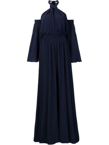 вечернее платье с открытыми плечами Derek Lam