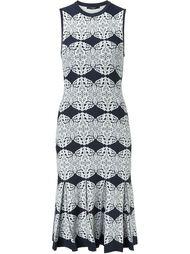 трикотажное платье со складками Derek Lam