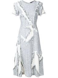 платье с необработанными деталями Derek Lam