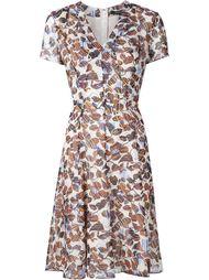 printed v-neck dress Derek Lam