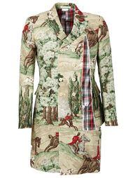 пальто с принтом  Comme Des Garçons Homme Plus