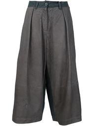 укороченные широкие брюки Isabel Benenato