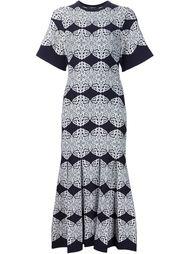 трикотажное платье с узорами и складками Derek Lam