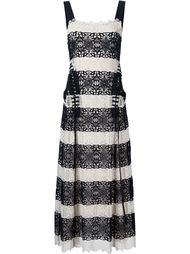 платье в полоску крючком Derek Lam