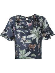 блузка с принтом  Muveil