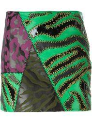 юбка с принтом  Versace