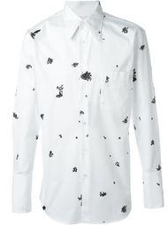 жаккардовая рубашка Alexander McQueen